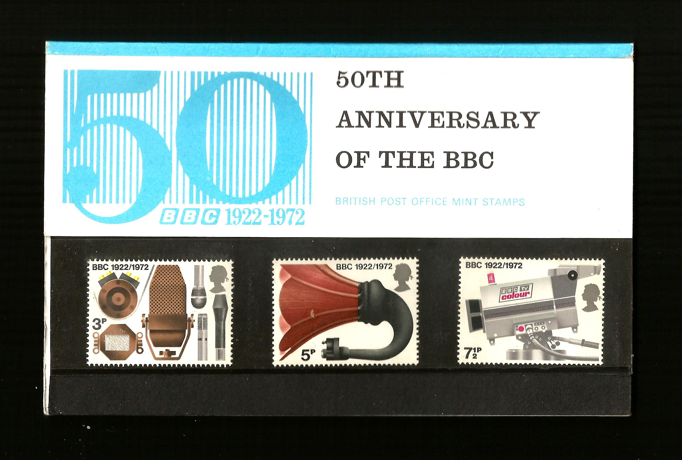 British Mint Stamps Pack No.43 50th Anniversary of BBC Special E